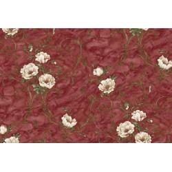 Тапет 7514-9 цветя бордо Bloom